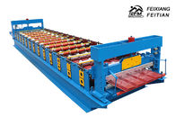 Hihg Power Metal Roof Trapezoidal Sheet Roll Forming Machine Delta PLC Control