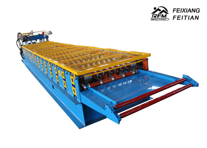 Fully Automatic Glazed Tile Roll Forming Machine 380v 50HZ 3PH For High Story Building