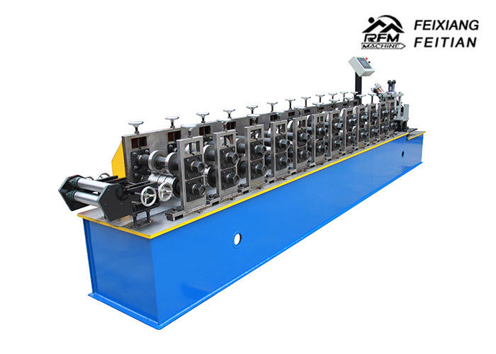 Galvanized Steel Metal Stud And Track Roll Forming Machine For House Building