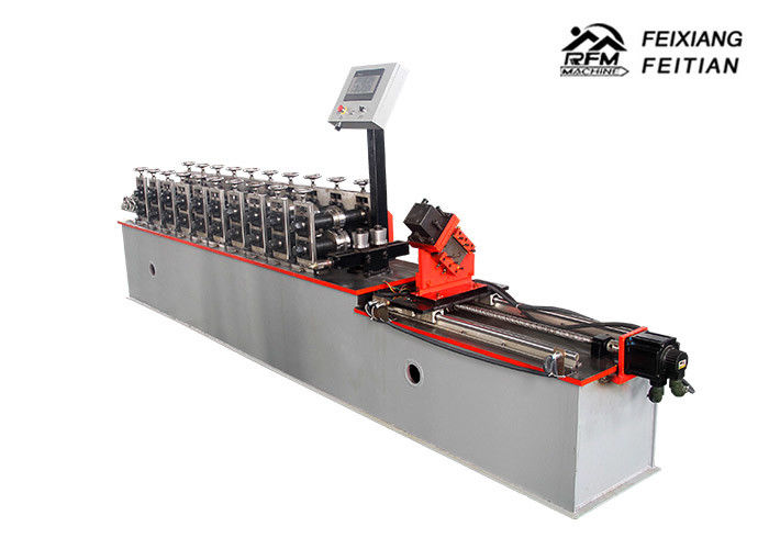 PLC Control System Metal Stud And Track Roll Forming Machine Safety With Energy Saving